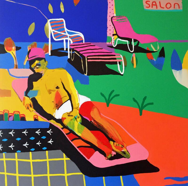 Alan Fears, 'A Side Order of Beefcake', 2021, Painting, Acrylic on Canvas, Fears and Kahn