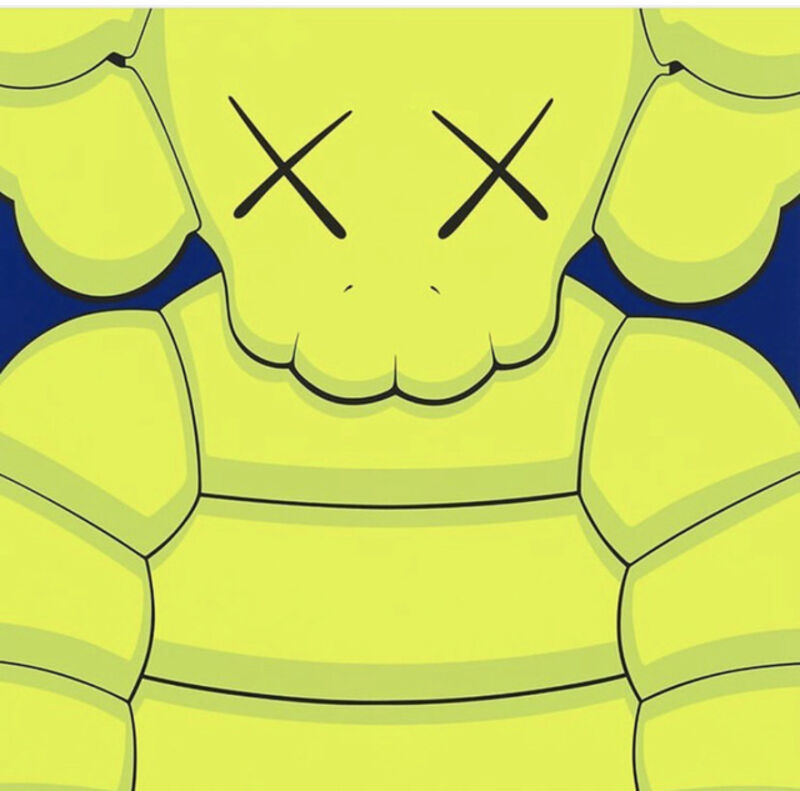 KAWS, 'What Party (Yellow)', 2020, Print, Screenprint on Saunders Waterford 425gm HP hi-white, West Chelsea Contemporary
