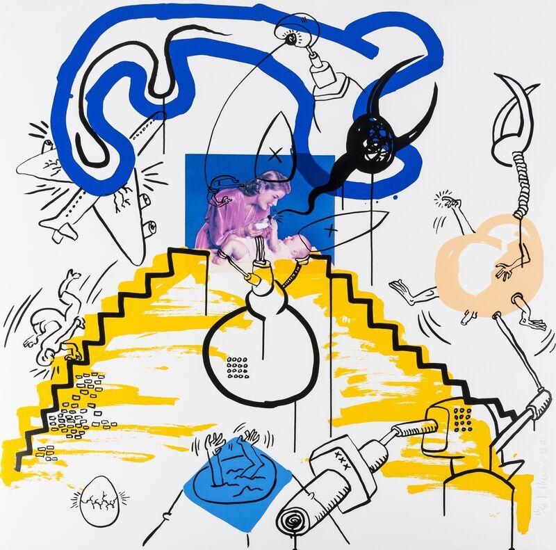 Keith Haring, 'Apocalypse (Littmann p.102)', 1988, Print, Screenprint in colours, Forum Auctions