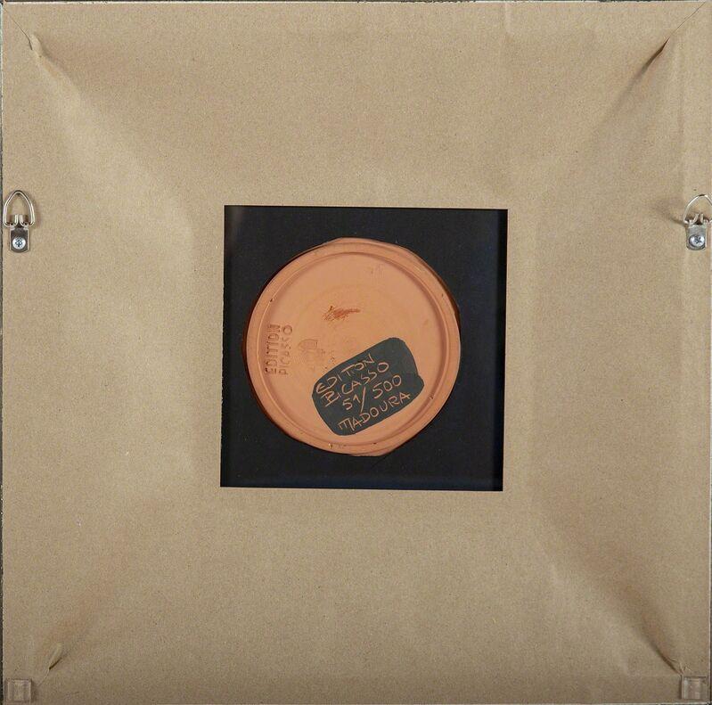 Pablo Picasso, 'Taureau, marli aux feuilles (Bull, Rim with Leaves) A.R. 394', 1957, Sculpture, Ceramic, Modern Artifact