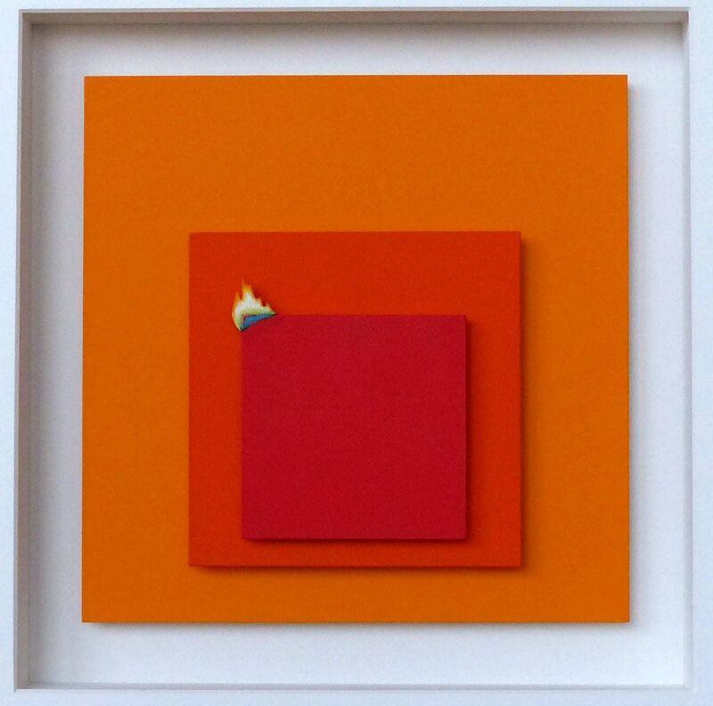 Volker Kühn, 'Homage to Albers', 2021, Sculpture, Mixed media, Plus One Gallery