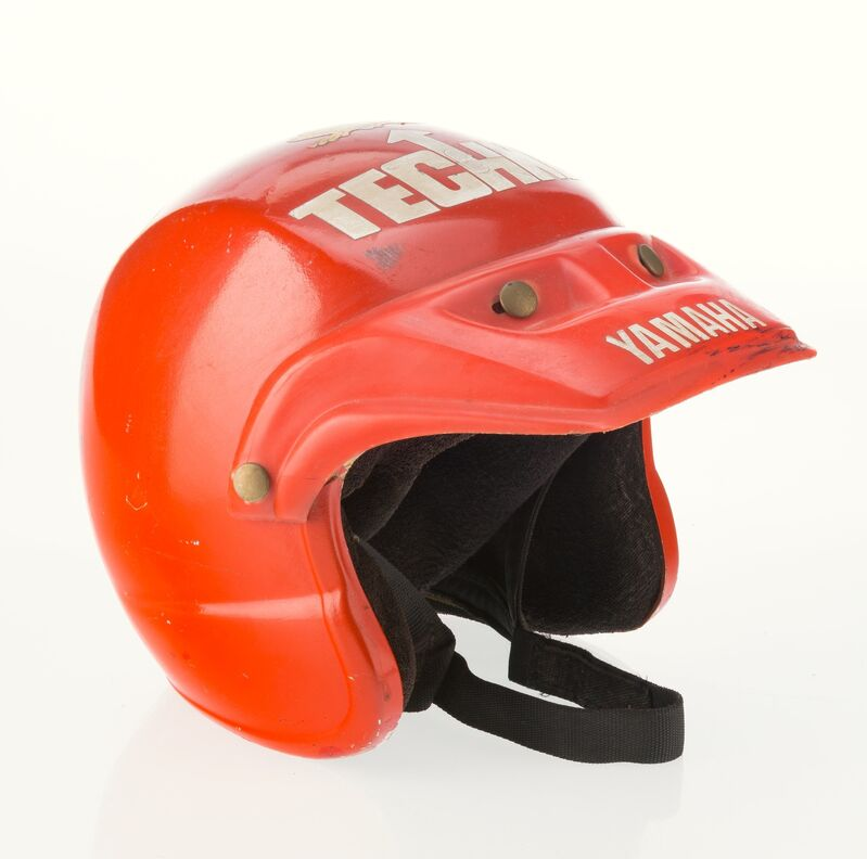 Keith Haring, 'Untitled (motorcycle helmet)', 1987, Other, Fiberglass, Heritage Auctions