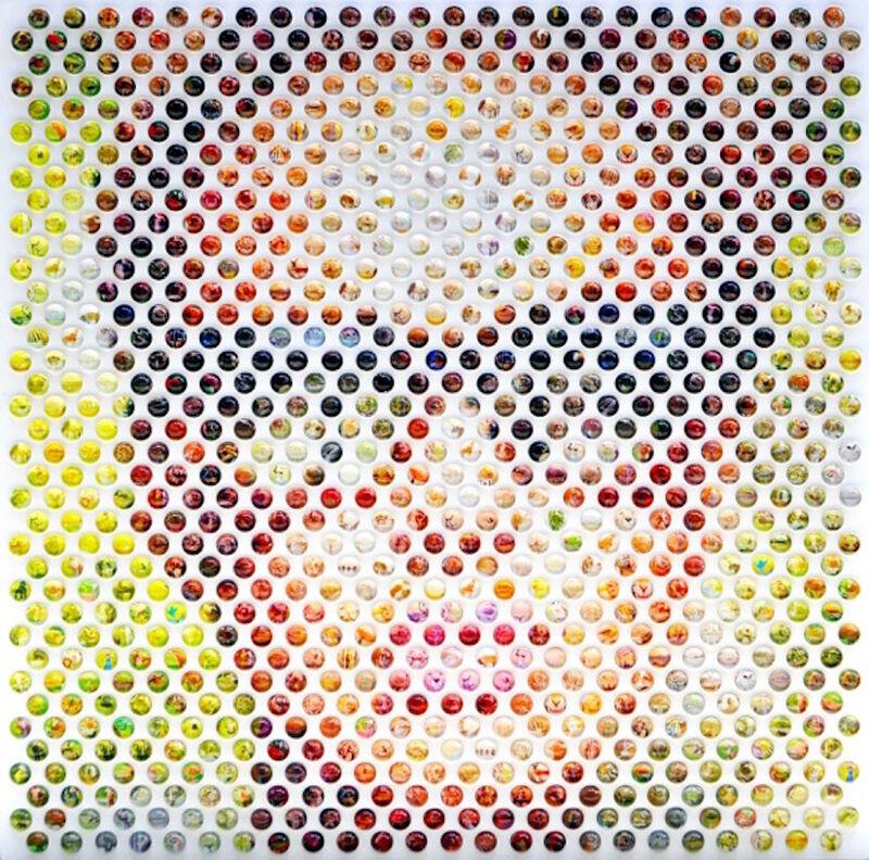 Nemo Jantzen, 'Wildlife', 2015, Mixed Media, Mixed media, resin/glass spheres on wood, K + Y Gallery