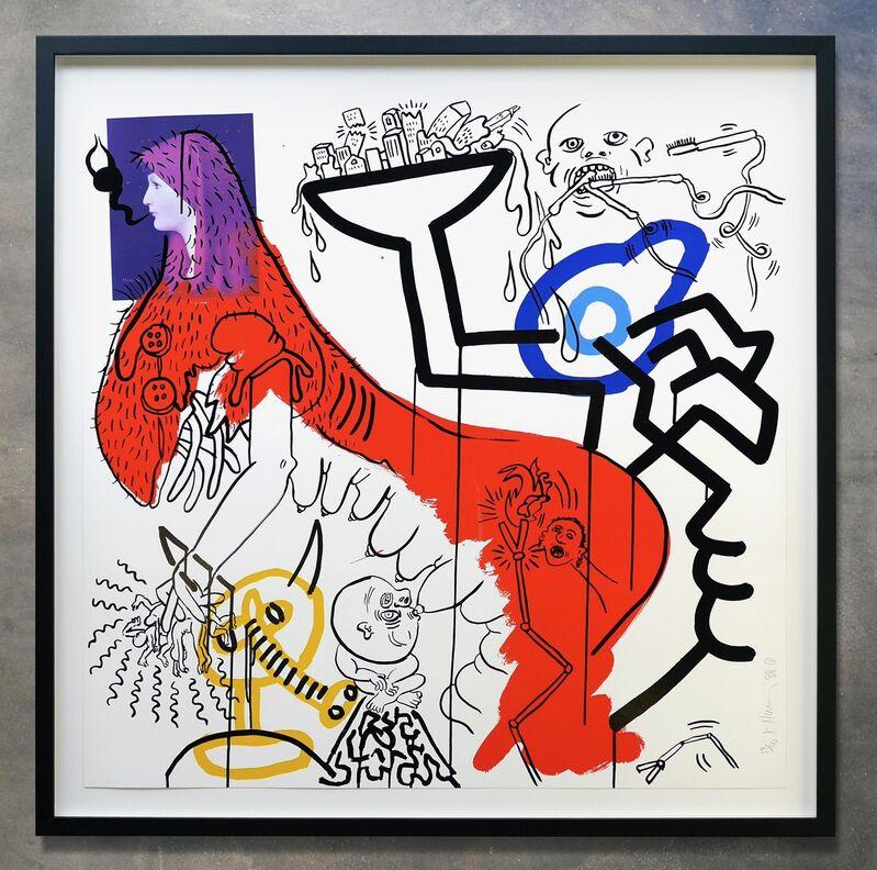 Keith Haring, 'Apocalypse No. 4', 1988, Print, Silkscreen print on Museum board, Joseph Fine Art LONDON