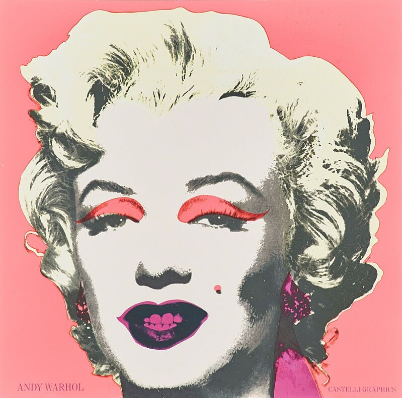Andy Warhol, 'Two Marilyn Invitations (Castelli Gallery)', 1981, Print, Offset lithographs in colors, Rago/Wright