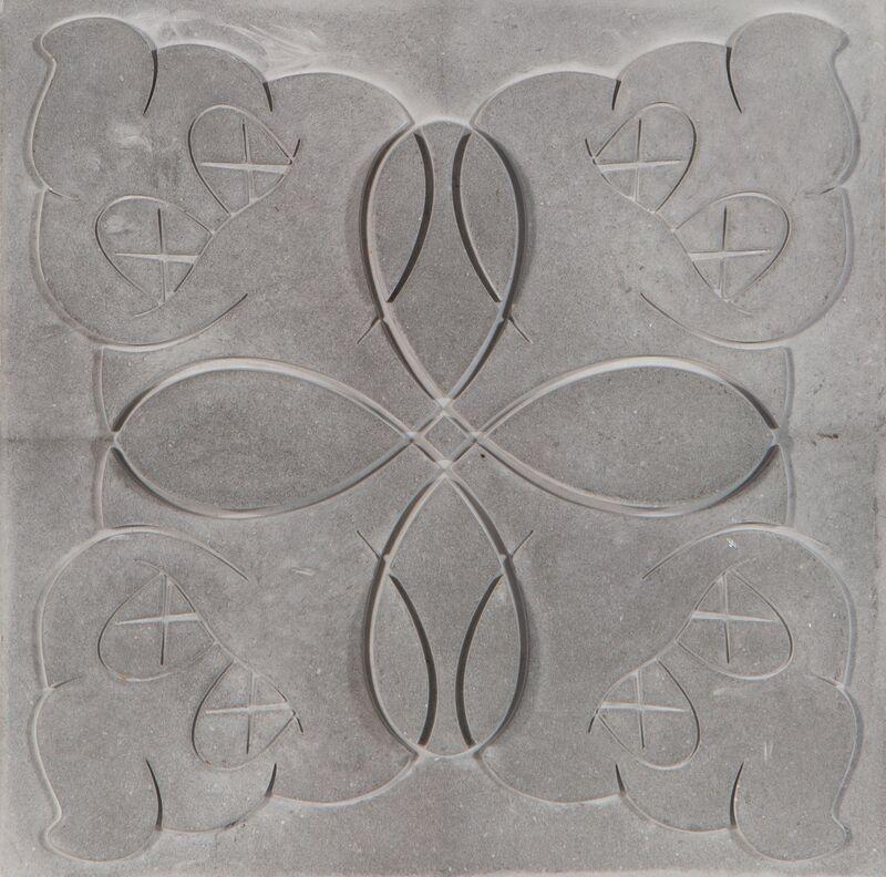 KAWS, 'OriginalFake Store Tile (Grey)', 2006, Design/Decorative Art, Ceramic tile, Heritage Auctions