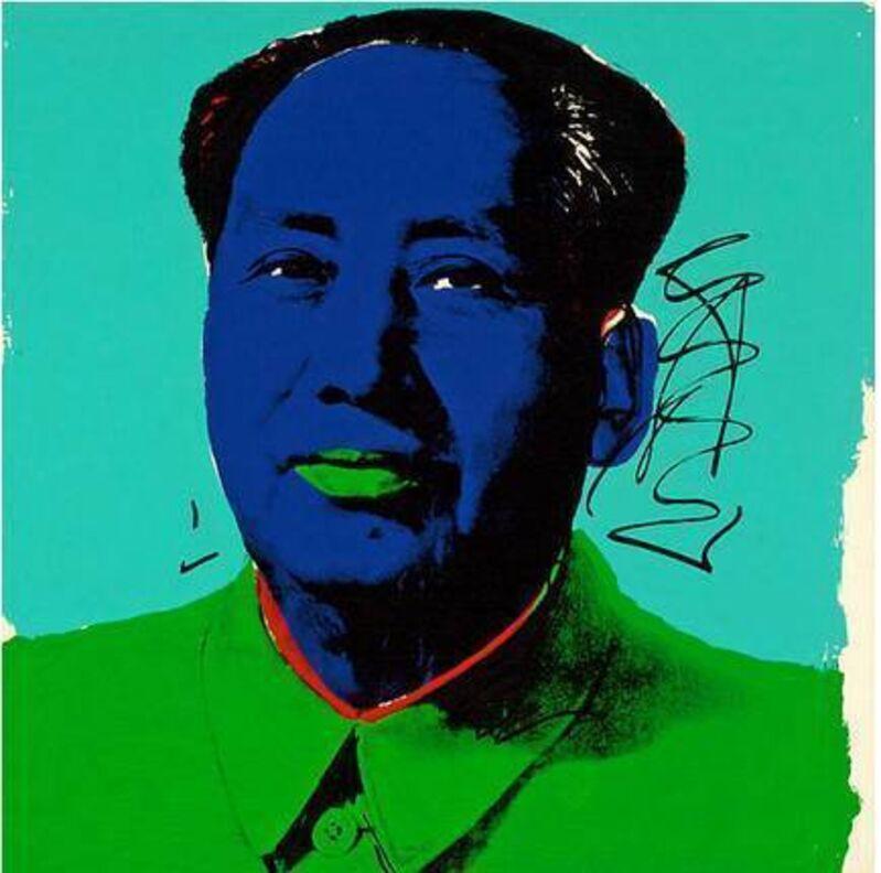Andy Warhol, 'Mao, II.99', 1972, Print, Screenprint on Beckett High White paper, Upsilon Gallery