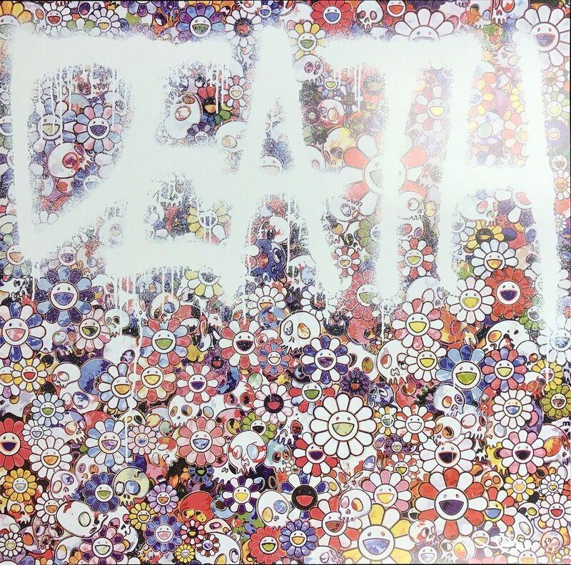 Takashi Murakami, 'Death Flower', 2016, Print, Offset lithograph in colors, Toshkova Fine Art Advisory