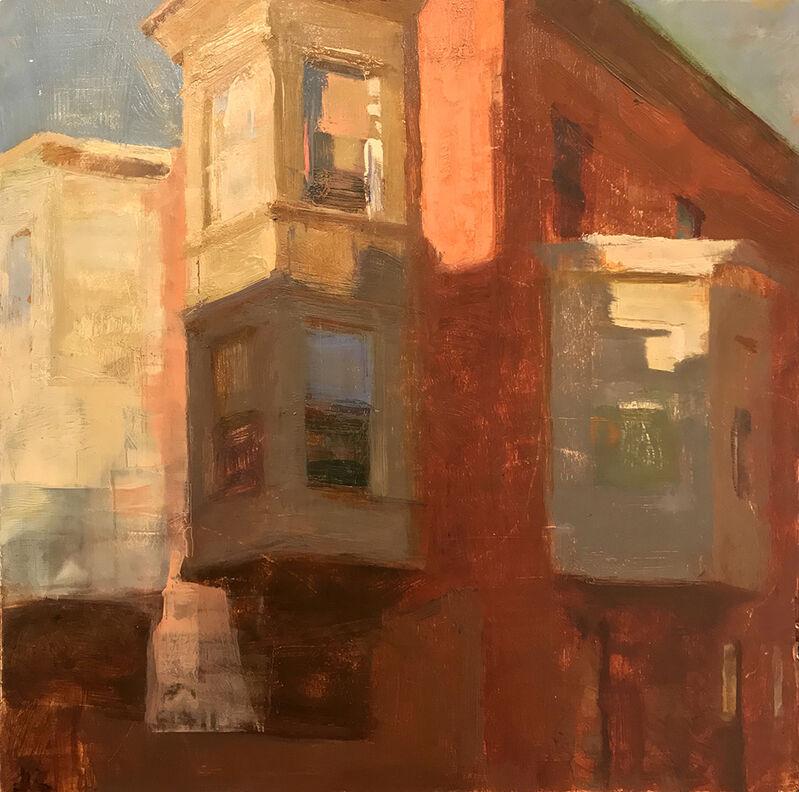 Jon Redmond, '3 Bays', 2016, Painting, Oil on board, Somerville Manning Gallery