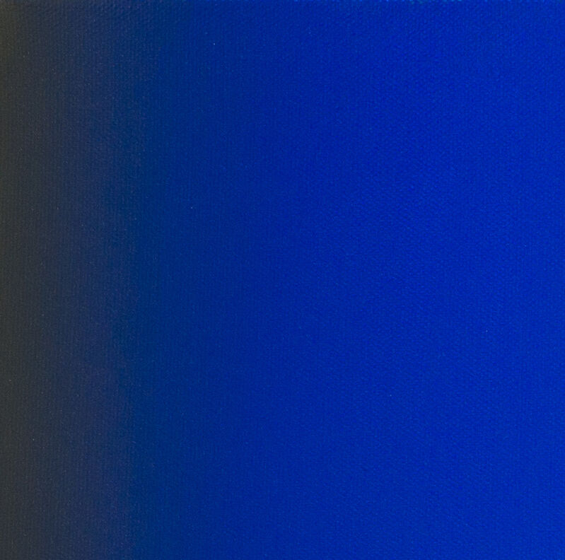 Ruth Pastine, 'Flash 2 (Blue Orange) Double Primary Series', 2011, Painting, Oil on canvas, Bentley Gallery