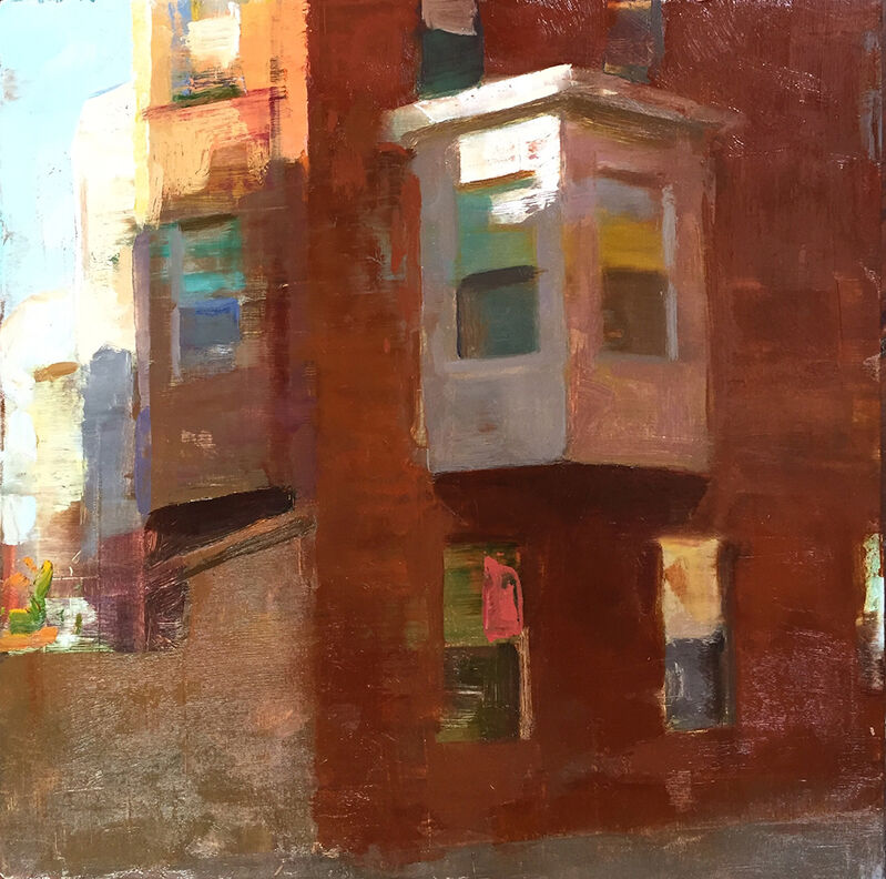 Jon Redmond, 'White Bay', 2016, Painting, Oil on board, Somerville Manning Gallery
