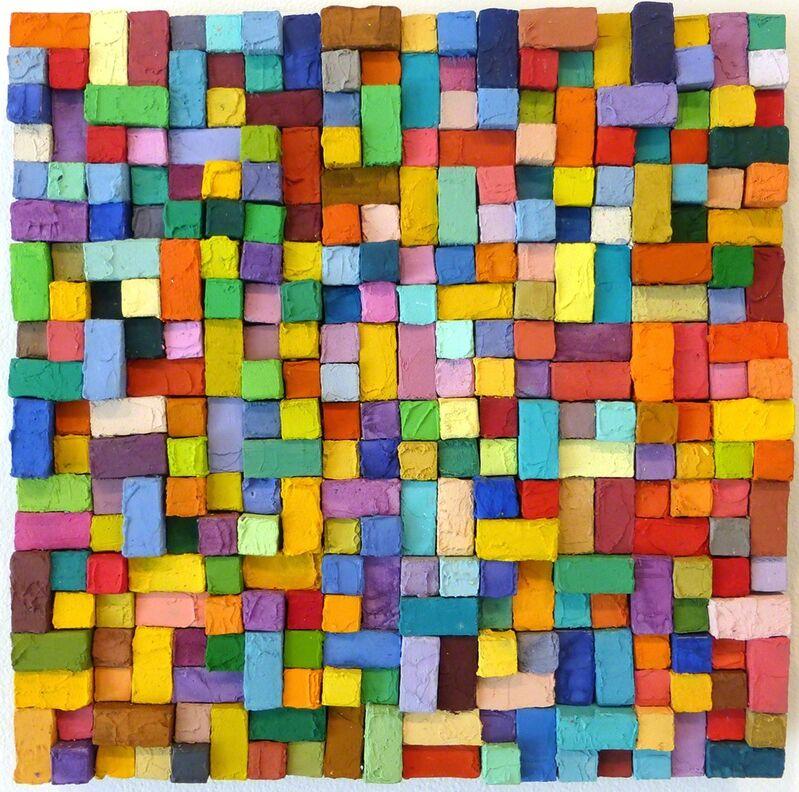 Carlos Estrada-Vega, 'Jorgina', 2015, Painting, Wax, limestone dust, oil, olepasto and pigments on wood, Margaret Thatcher Projects