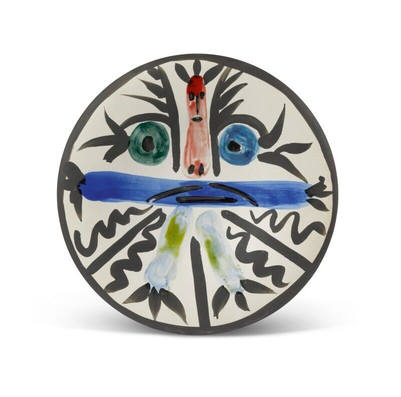 Pablo Picasso, 'Personnages n°28 (A.R.463)', 1963, Design/Decorative Art, White earthenware, painted and partially glazed, HELENE BAILLY GALLERY