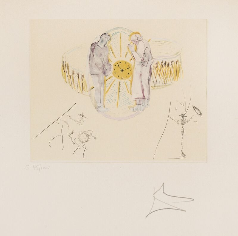 Salvador Dalí, 'The Cycles of Life. Reflections (Field 79-C)', 1979, Print, Etching with lithograph printed in colours, Forum Auctions
