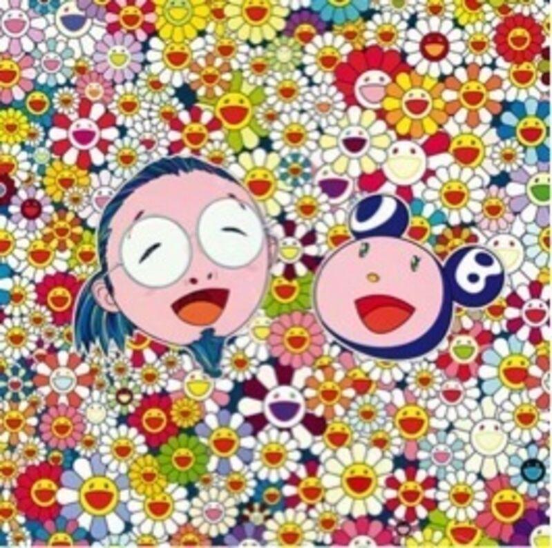 Takashi Murakami, 'Me and Mr. DOB', 2010, Print, Lithograph, Soho Contemporary Art