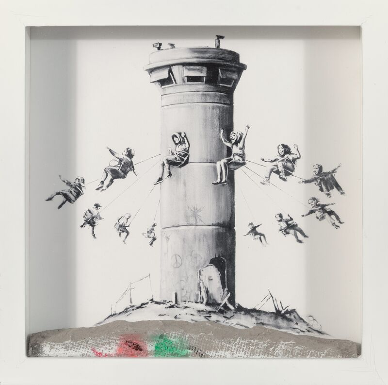 Banksy, 'Walled Off Hotel Box', 2017, Sculpture, Lithograph with concrete, Heritage Auctions