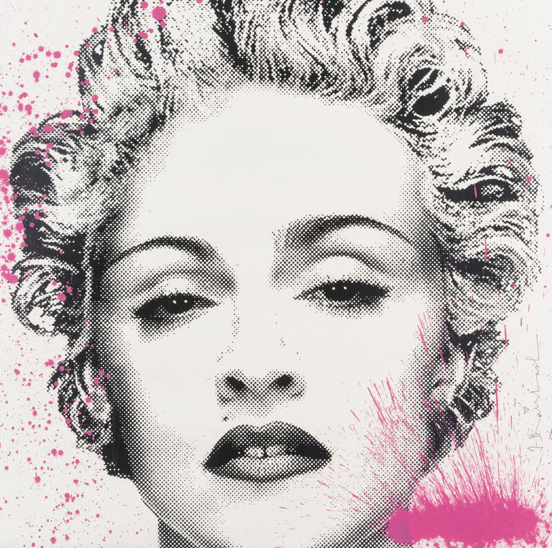 Mr. Brainwash, 'Happy B-Day Madonna', 2017, Print, Hand-embellished screenprint on archival paper, Tate Ward Auctions