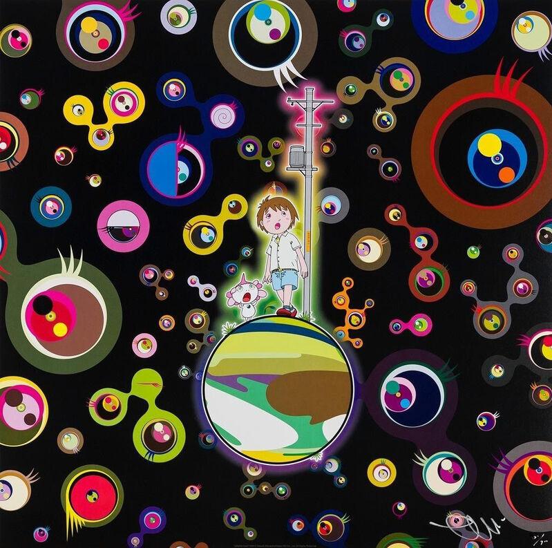 Takashi Murakami, 'Jelly Fish', 2013, Print, Offset lithograph, Nohra Haime Gallery