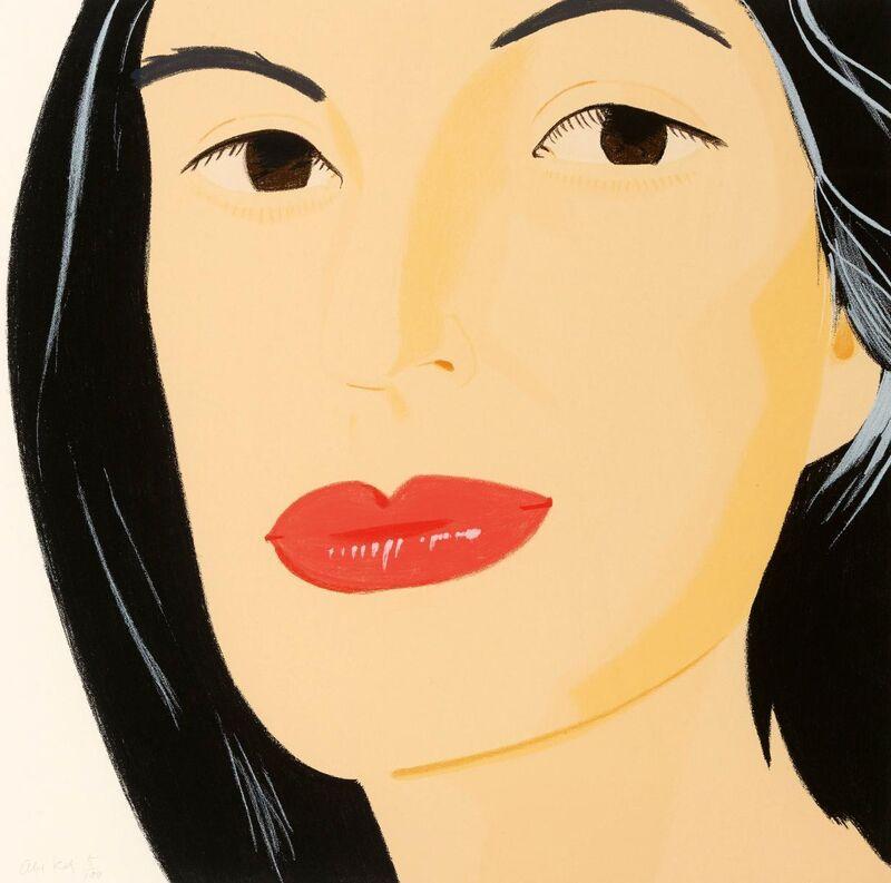 Alex Katz, 'Ada', 1994, Print, Colour silkscreen on card, Van Ham