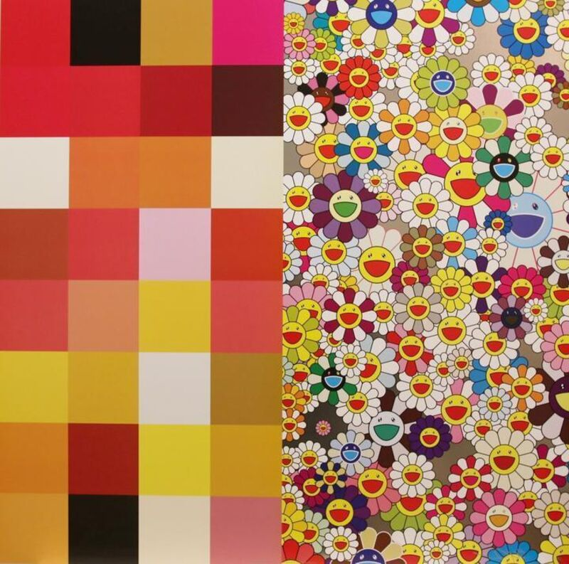 Takashi Murakami, 'Acupuncture Flowers', 2011, Print, Offset lithograph, Vogtle Contemporary