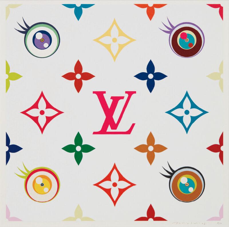 Takashi Murakami, 'Eye Love Superflat (Pink)', 2003, Print, Screenprint in colors, on wove paper, with full margins, Pinto Gallery