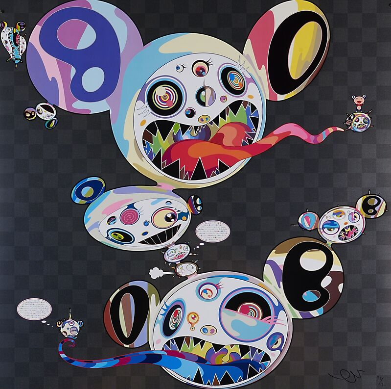 Takashi Murakami, 'Parallel Universe', 2014, Print, Offset lithograph in colors on UV paper, Rago/Wright