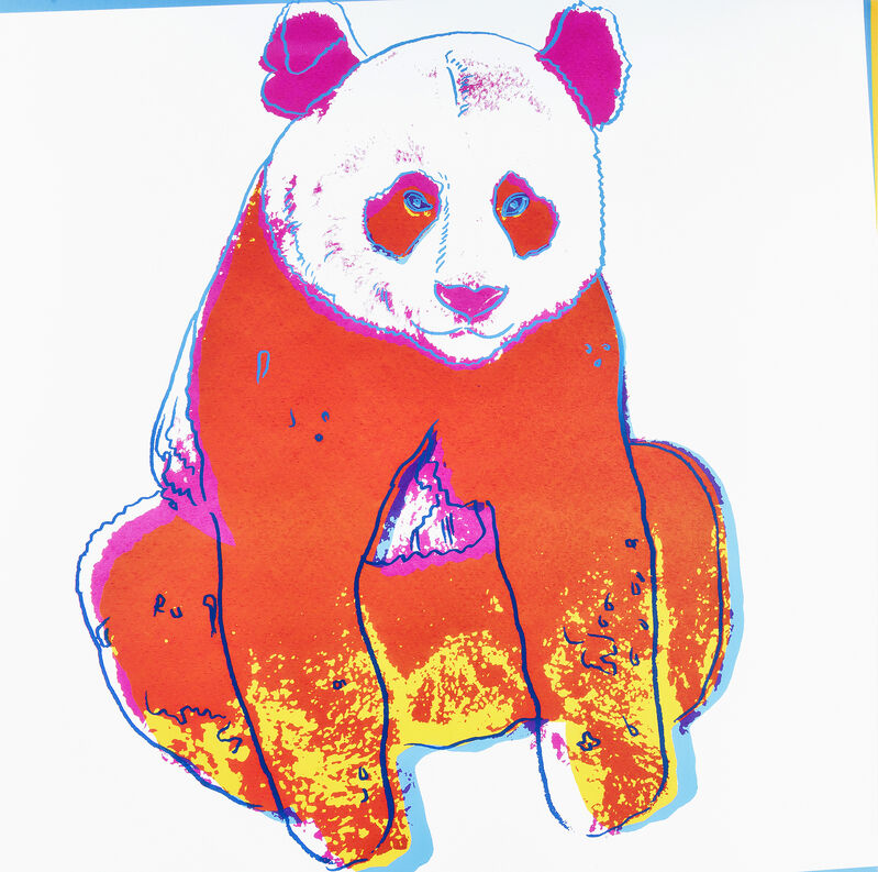 Andy Warhol, 'Giant Panda, from Endangered Species', 1983, Print, Screenprint in colours on Lenox Museum Board, Tate Ward Auctions