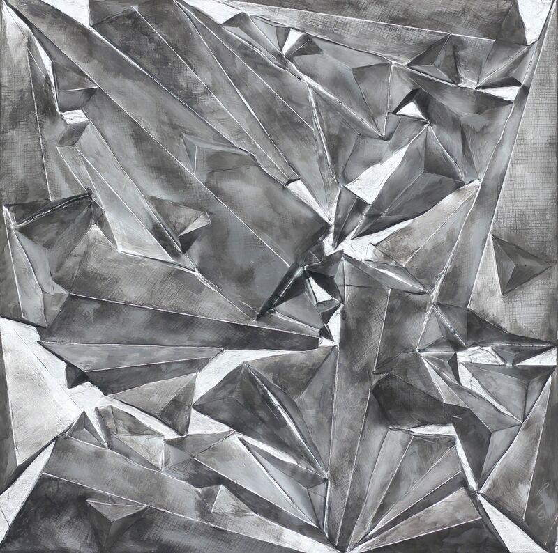 Ryan Shane Owen, 'Pluto', 2017, Painting, Mixed Media, Papier Mache, Acrylic, Artspace Warehouse