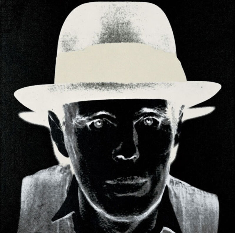 Andy Warhol, 'Joseph Beuys (FS II.245)', 1980, Print, Screenprint on Arches Cover Black paper, Revolver Gallery