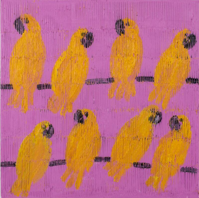Hunt Slonem, 'Bavaria', 2021, Painting, Oil on Canvas, Galerie Schimming
