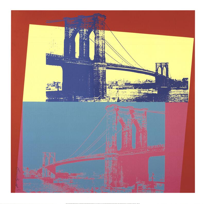 Andy Warhol, 'Brooklyn Bridge', 2014, Reproduction, Giclee, ArtWise