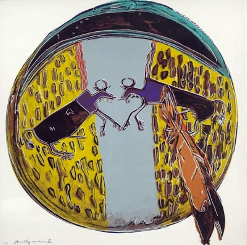 Andy Warhol, 'Plains Indian Shield', 1986, Print, Screenprint on Lenox Museum Board, Vertu Fine Art
