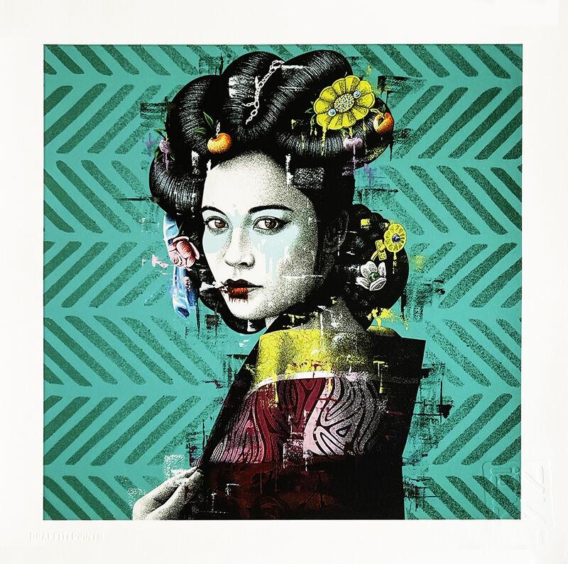 Fin Dac, ''Changsegi'', 2021, Print, Screen print in colors on 300gsm Somerset fine art paper., Signari Gallery