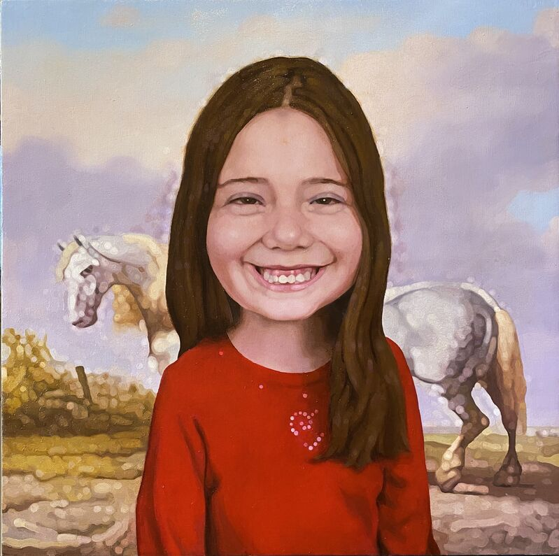 Colin Chillag, 'Portrait of a Girl', 2020, Painting, Oil on canvas, McVarish Gallery