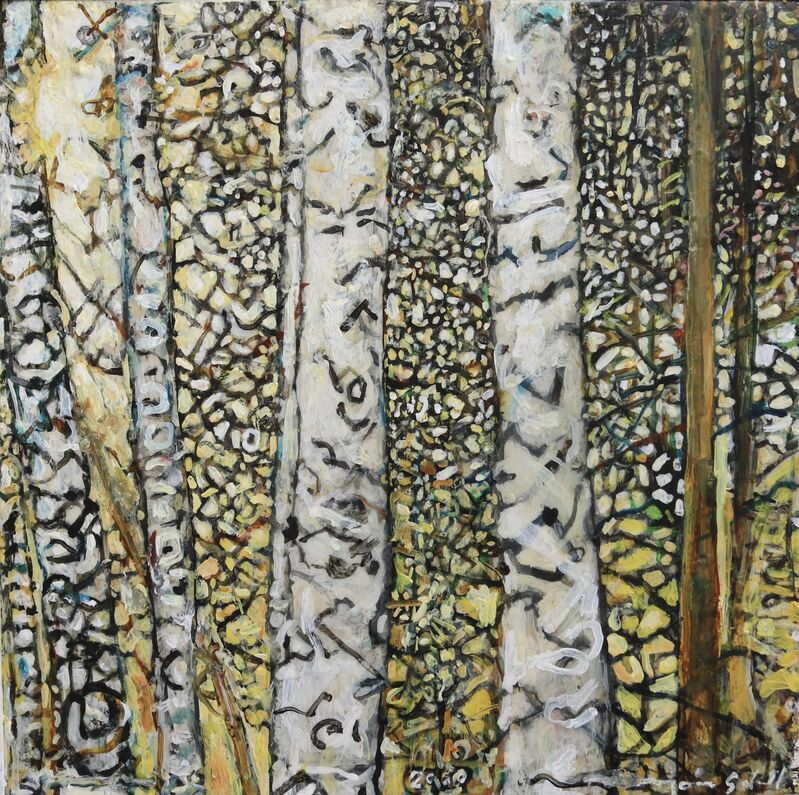 Marjorie Scholl, 'Woods without Momma', 2020, Painting, Acrylic on Canvas, McVarish Gallery
