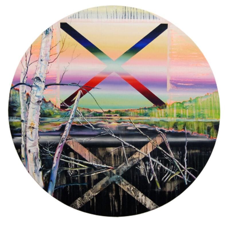 Anne Wölk, 'Mirror', 2011, Painting, Oil on canvas, Alfa Gallery