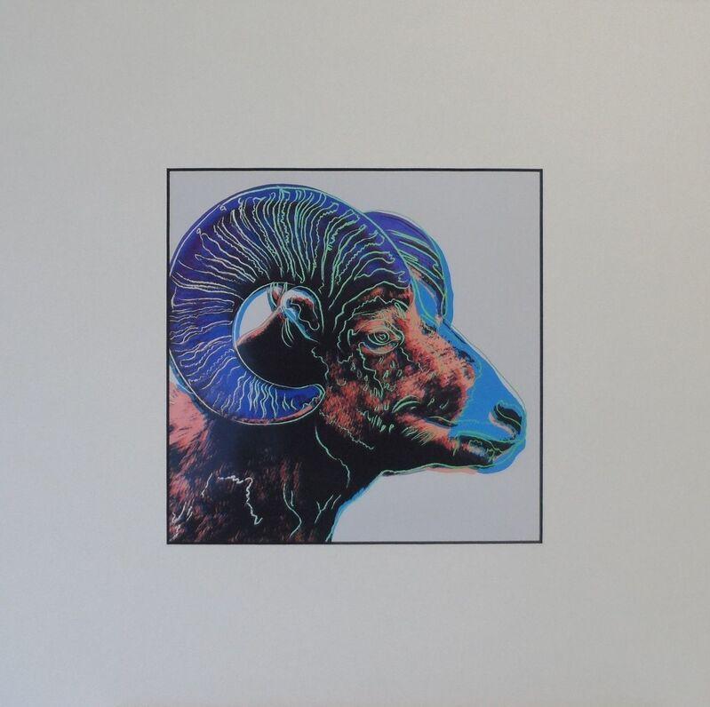 Andy Warhol, 'Bighorn Ram', 1987, Print, Colour Offset Print, Art276