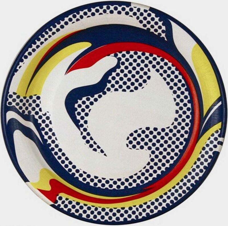 Roy Lichtenstein, 'Paper Plate', 1969, Ephemera or Merchandise, Silkscreen on paper plate, Art Commerce