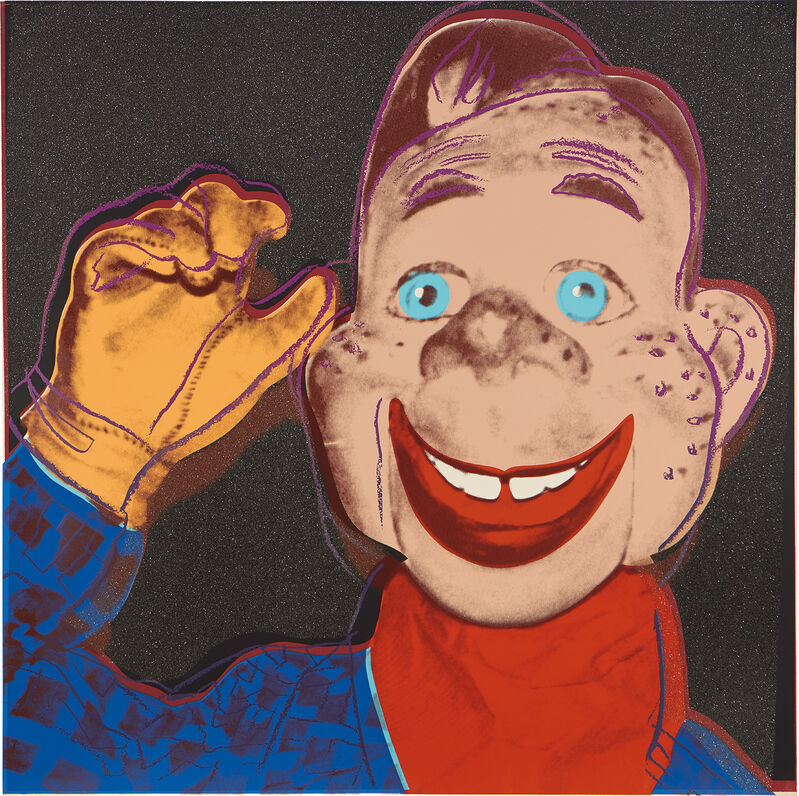 Andy Warhol, 'Howdy Doody, from Myths', 1981, Print, Screenprint in colors with diamond dust, on Lenox Museum Board, the full sheet., Phillips