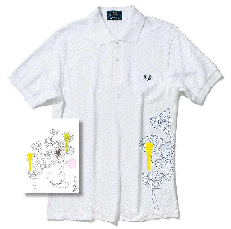 Trey Speegle, '111 Reasons To Love You/ Fred Perry shirt & print', 2009, Fashion Design and Wearable Art, Silkscreen on polo shirt/ letterpress, acrylic on paper, Gallery 52