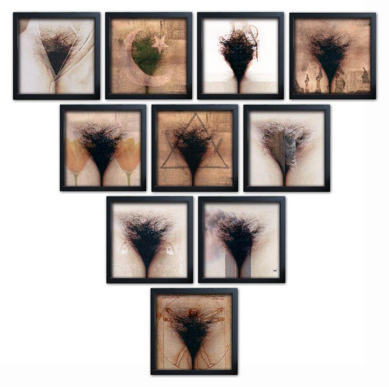 Yves Hayat, 'TRIANGLE DES BERMUDES', 2008-2009, Print, Inkjet print on Fine Art watercolor paper / Framed, Mark Hachem Gallery