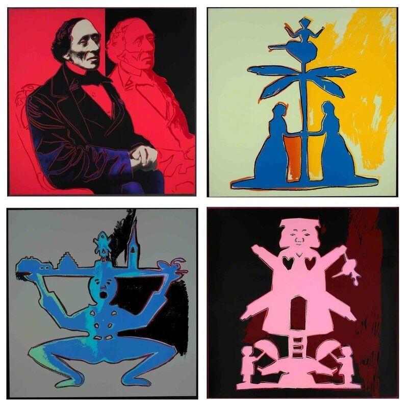 Andy Warhol, 'Hans Christian Andersen II.394 - II.397 (suite)', 1987, Print, Screenprint on Lenox Museum Board, Hamilton-Selway Fine Art