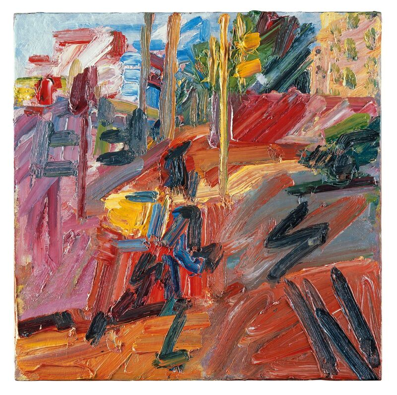 Frank Auerbach, 'Hampstead Road, High Summer', 2010, Painting, Oil paint on board, Tate Britain