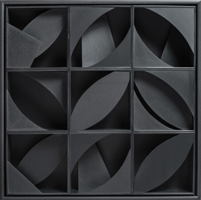 Louise Nevelson, 'Night Leaf', 1969, Sculpture, Multiple in black plastic, Jeanne Bucher Jaeger
