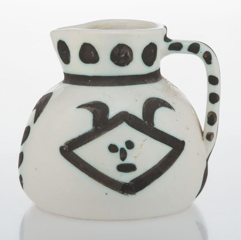 Pablo Picasso, 'Tetes', 1956, Design/Decorative Art, Terre de faïence pitcher, painted and partially glazed, Heritage Auctions
