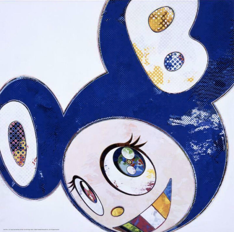 Takashi Murakami, 'And Then... All Things Good and Bad', 2013, Print, Offset print with silver, ArtLife Gallery