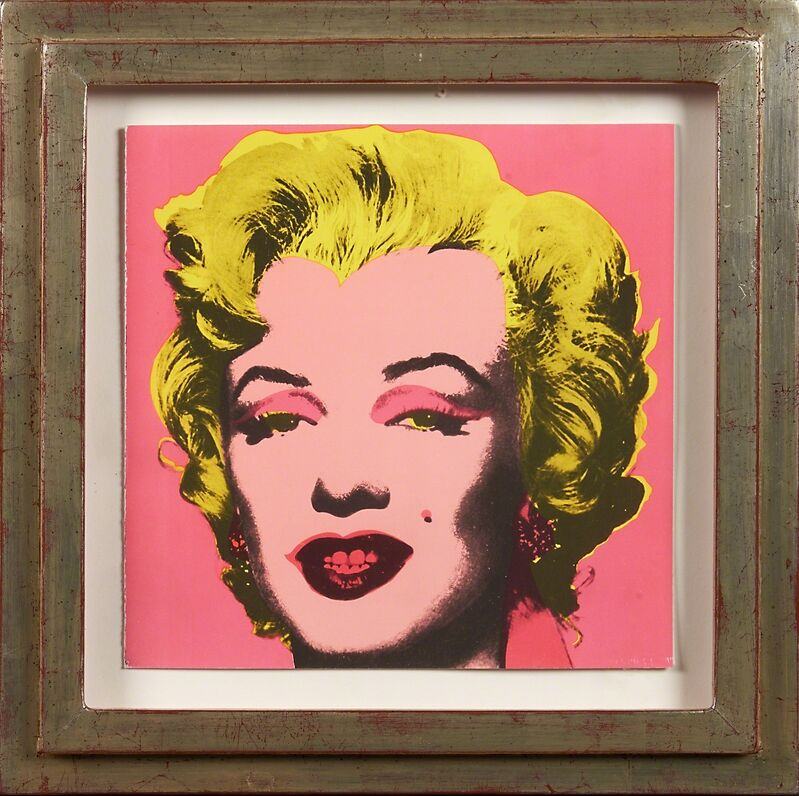Andy Warhol, 'Marilyn Castelli Invitation', 1981, Print, Offset lithograph in colors (framed), Rago/Wright