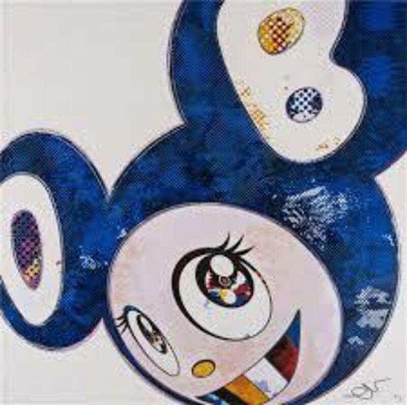 Takashi Murakami, 'And Then x 727 (Ultramarine : Gunjo)', 2003, Print, Offset lithograph, Dope! Gallery