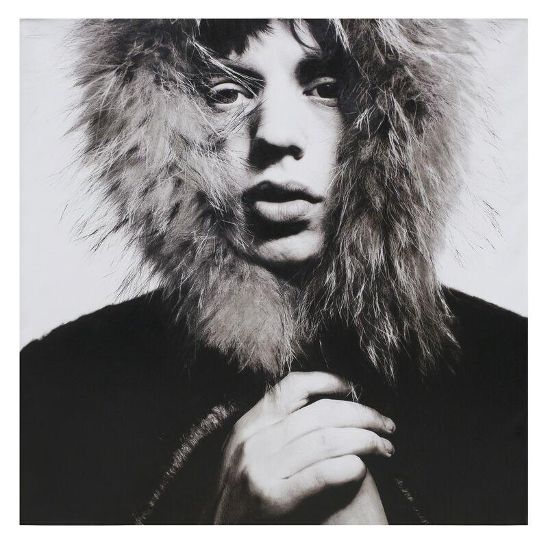 David Bailey, 'Mick Jagger', 1965, Photography, Silkscreen Inks and Household Paint on Canvas, Daniel Blau