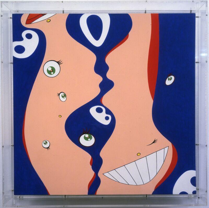Takashi Murakami, 'Klein's Pot B', 1997, Painting, Acrylic on canvas on board, MCA Chicago